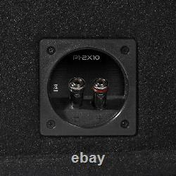 Rockford Fosgate Punch P1-2X10 Dual P1 10 Loaded Subwoofer Enclosure Ported