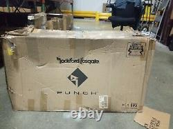 Rockford Fosgate Punch P1-2X12 Dual 12 Loaded Enclosure