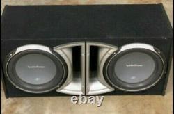 Rockford Fosgate Punch P1-2X12 Dual 12, Loaded Subwoofer/Sub+Enclosure/Box