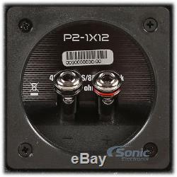 Rockford Fosgate Punch P2 P2-1X12 800W 12 Loaded Ported Subwoofer 1-Ohm Box