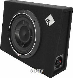 Rockford Fosgate Punch P3S-1X10 Shallow 10 Loaded Enclosure