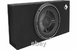 Rockford Fosgate Punch P3S-1X12 Single 12 Subwoofer Shallow Loaded Enclosure