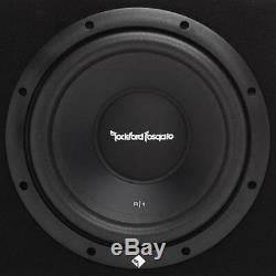 Rockford Fosgate R1-2X10 10 800 Watts Dual Loaded Subwoofer Sub Enclosure