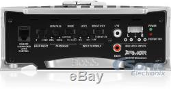Rockford Fosgate R1-2X10 10 800W Loaded Subwoofer Enclosure + Car Amp + Amp Kit