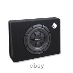 Rockford Fosgate R2S-1X10 10 Shallow Subwoofer Loaded Sealed Enclosure NEW