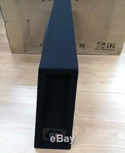 Rockford Fosgate R2S-1X12 Car 12 Shallow Loaded 500W Enclosure OPEN-BOX#