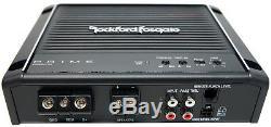 Rockford Prime R1S410 Triple 10 Subwoofer Loaded 1500 Watt Sub Box R500X1D Amp