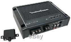 Rockford Prime R1S412 Triple 12 Subwoofer Loaded 1800 Watt Sub Box R500X1D Amp