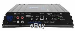 Rockville RV12.1A 600w 12 Loaded Car Subwoofer Enclosure+Mono Amplifier+Amp Kit