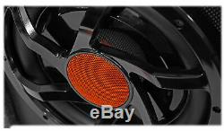 Rockville RWS10CA Slim 1000w 10 Powered Loaded Car Subwoofer Enclosure+Wire Kit