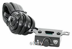 Rockville SK58 PACKAGE 8 800w Loaded K5 Car Subwoofer Enclosure+DB10 Amplifier