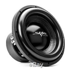 SKAR AUDIO DUAL 12 5,000 WATT COMPLETE BASS PKG With LOADED BOX AMP & WIRE KIT