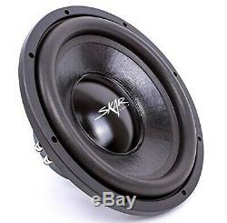 Skar Audio Dual 12 1000W Dual 4 Ohm Loaded Vented Subwoofer Enclosure. New