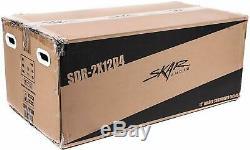 Skar Audio Dual 12 2400W Loaded Sdr Series Vented Subwoofer Enclosure Sdr-2X1