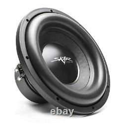 Skar Audio Dual 12 2400w Sdr Complete Bass Pkg Loaded Sub Box Amp Wire Kit