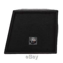 Skar Audio Dual 12 5000 Watt Complete Subwoofer Loaded Vented Box And Amplifier
