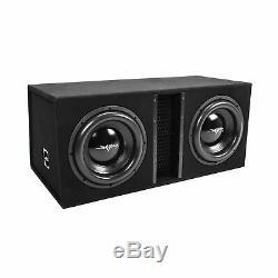 Skar Audio Dual 12 5000W Loaded EVL Series Vented Subwoofer Enclosure EVL