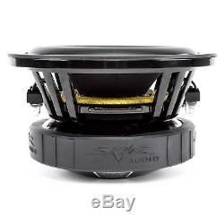 Skar Audio Dual 6.5 Evl D2 800w Ported Loaded Subwoofer Enclosure Charcoal