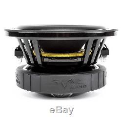 Skar Audio Dual 6.5 Evl D4 800w Ported Loaded Subwoofer Enclosure Charcoal