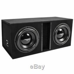 Skar Audio EVL2X12D4 12 inch 5000 Watt Car Subwoofer loaded enclosure