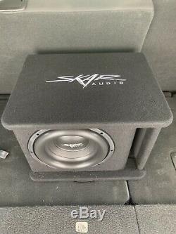 Skar Audio Single 10 1,200 Watt Sdr Series Loaded Vented Subwoofer Enclosure