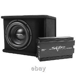 Skar Audio Single 10 1200 Watt Complete Sdr Series Loaded Sub Box And Amplifier