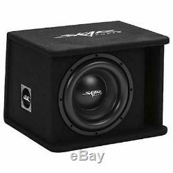 Skar Audio Single 10 1200W Loaded SDR Series Vented Subwoofer Enclosure SDR-1