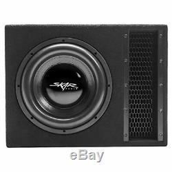 Skar Audio Single 12 2500W Loaded EVL Series Vented Subwoofer Enclosure EVL-1