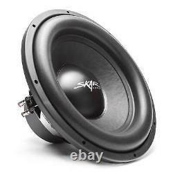 Skar Audio Single 15 1200 Watt Complete Sdr Series Loaded Sub Box And Amplifier