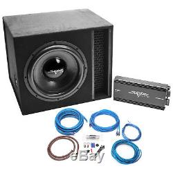 Skar Audio Single 15 2500 Watt Complete Evl Series Loaded Sub Box And Amplifier