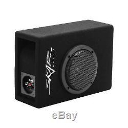 Skar Audio Single 6.5 400 Watt Complete Evl Series Loaded Sub Box And Amplifier