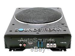 Soundstream USB-8A 150 Watt RMS Powered Enclosure Loaded 8 Under Seat Subwoofer