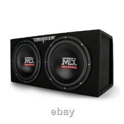 Subwoofer MTX 12 1200W Dual Loaded Car Speaker Audio+Sub Box+Amplifier+Amp Kit