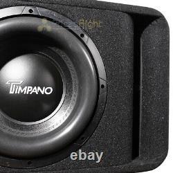 Timpano Single 12 Loaded Subwoofer Enclosure Sub Vented Box TPT-T2500-1x12 D2