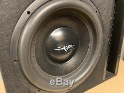 Used Skar Audio Evl-1x15d2 Single 15 2500w Vented Loaded Sub Box Enclosure