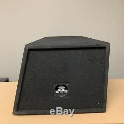 Used Skar Audio Evl-2x10d4 Dual 10 4000w Loaded Ported Subwoofer Enclosure