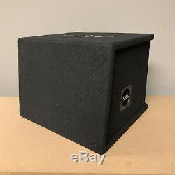Used Skar Audio Sdr-1x10d2 Single 10 1200 Watt Loaded Ported Subwoofer Box