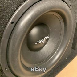 Used Skar Audio Sdr-1x15d2 Single 15 1200 Watt Loaded Ported Subwoofer Box