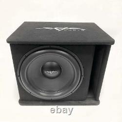 Used Skar Audio Sdr-1x18d2 Single 18 1200 Watt Loaded Ported Subwoofer Box